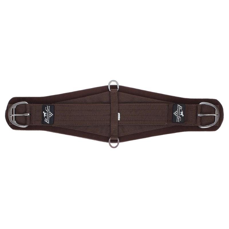 Barrigueira Larga SMx Roper Neoprene Marrom - Professional's Choice 17916