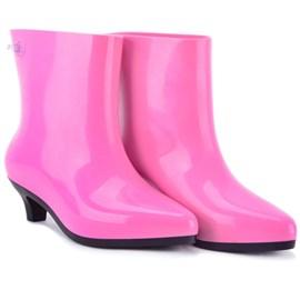 Produto Bota Melissa Ankle Boot Jeremy Scott Rosa Preto 31916