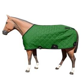 Capa para Cavalo Forrada Aberta no Peito Verde - M Reis 17760