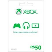 Cartão Presente R$50 Xbox Live Brasil - Microsoft