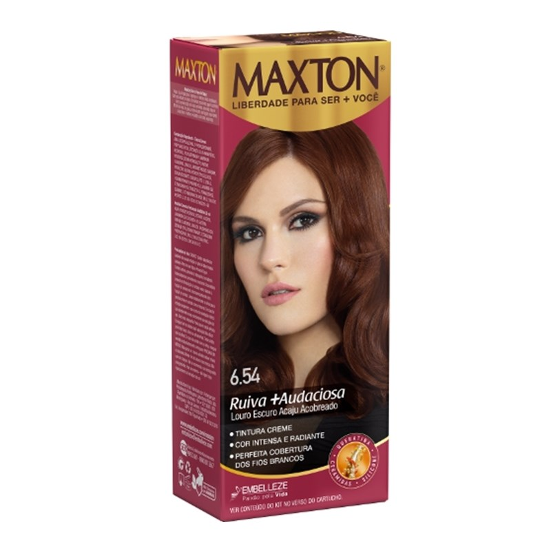 Kit Pratico Maxton Louro Escuro Acaju Acobreado 6.54