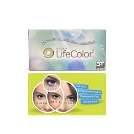 Lentes de Contato Lifecolor Tricolor - Com Grau