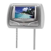 """Monitor KX3 DVD730C LCD 7"""" Com Encosto De Cabeça - Cinza (Unidade)"""