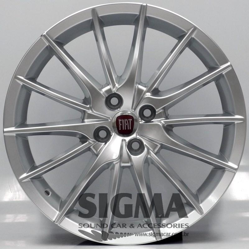 Roda Alfa Romeu Mito Aro 17x7 Prata 4x98 Et 41