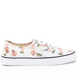 Tênis Vans Authentic Digi Hula Classic True White VN-04MKID8