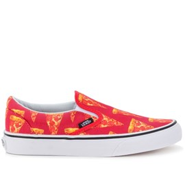 Tênis Vans Classic Slip On Late Night Mars Red Pizza VN-03Z4IFE