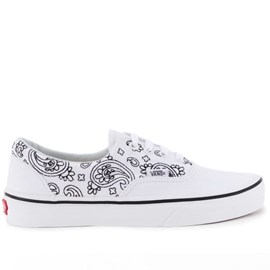 Tênis Vans Era Bandana Stitch True White Black VN-018FI9T