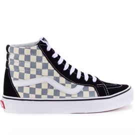 Tênis Vans SK8 Hi Reissue Checkerboard Black Citadel VN-03CAIB7